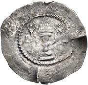 1 Drachm (Kushru I imitation; Chaghaniyan; countermark) -  revers