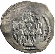 1 Drachm - Sashro Xidev (Kushru I imitation; Chaghaniyan; countermark) – revers