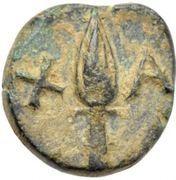 Bronze Æ8 (Chalke) – revers