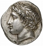 Tetradrachm (Olynthos) – avers