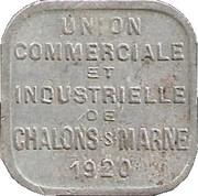 5 Centimes - Union commerciale et Industrielle - Chalons sur Marne [51] – avers