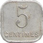 5 Centimes - Union commerciale et Industrielle - Chalons sur Marne [51] – revers