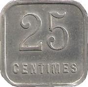 25 Centimes - Union commerciale et Industrielle - Chalons sur Marne [51] – revers