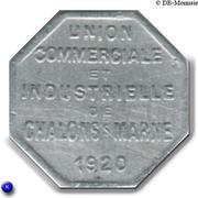10 Centimes Union Commerciale et Industrielle de Chalons sur Marne [51] – avers
