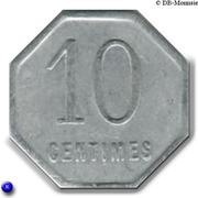 10 Centimes Union Commerciale et Industrielle de Chalons sur Marne [51] – revers