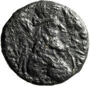Tétradrachme de bronze - Maga – avers