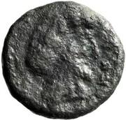 Tétradrachme de bronze - Maga – revers