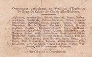 25 centimes - Syndicat d'Emission fr Bons de Caisse de Charleville-mizières – revers