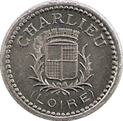 10 Centimes - Union commerciale et industrielle - Charlieu [42] -  avers