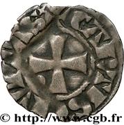 Denier anonyme attribué à Jean de Châtillon – revers