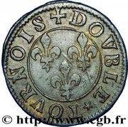 Double-Tournois François de Bourbon-Conti (Type 15) – revers