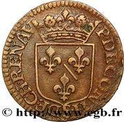 Liard François de Bourbon-Conti au buste large – revers