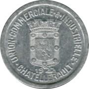 5 Centimes Union Commerciale et Industrielle de Chatellerault [86] – avers