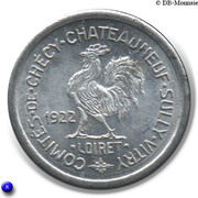5 centimes - Comités de Checy-Chateauneuf-Sully-Vitry [45] – avers