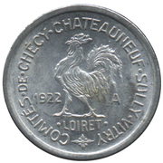 10 Centimes - Comités de Checy-Chateauneuf-Sully-Vitry - Loiret [45] – avers