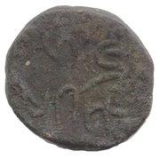 2 Paisa  Guman Singh Ji 1822-1851 (Chhota-Udaipur) -  revers