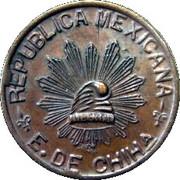 5 centavos (Constitutionalist Army) – avers
