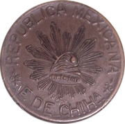 5 centavos - Chihuahua – avers