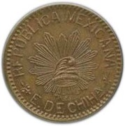 10 Centavos-Chihuahua – avers
