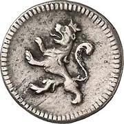 ¼ real - Carlos III (Avec marque d'atelier) – revers