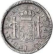 ½ Real - Carlos IIII (bust of Carlos III) – revers