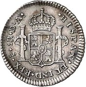 1 Real - Carlos IV (bust of Carlos III) – revers