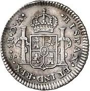 1 Real - Carlos IV (bust of Carlos III) – revers
