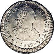1 real - Carlos IV (Monnaie coloniale) -  avers