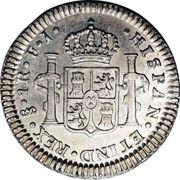 1 real - Carlos IV (Monnaie coloniale) – revers