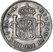 2 Reales - Carlos III – revers