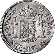 2 Reales - Carlos IIII (bust of Carlos III) – revers