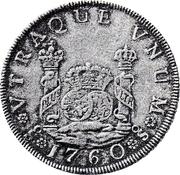 4 Reales - Carlos III – revers