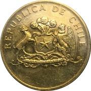 100 pesos (Essai) – avers