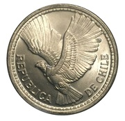 5 pesos / ½ Condor -  avers