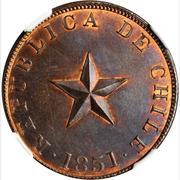 1 centavo (étoile en relief) – avers