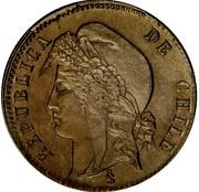 ½ centavo – avers