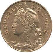 2½ Centavos – avers
