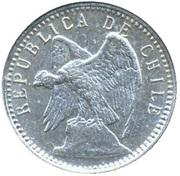 5 centavos (argent 835‰) – avers
