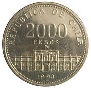 2000 pesos (Anniversaire de l'atelier) -  avers