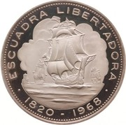 10 pesos (Libération) – revers