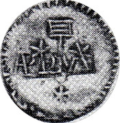 1 Real (Countermarked coinage) – avers