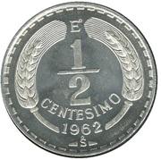 ½ centesimo – revers