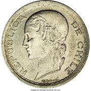 5 pesos (Essai) – avers