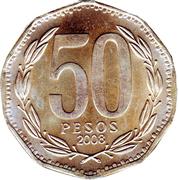 50 pesos -  revers