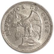 5 centavos (cupronickel) – avers