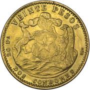 20 pesos – revers