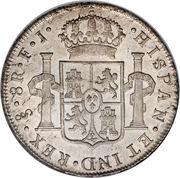 8 reales - Carolus IIII (monnaie coloniale) – revers