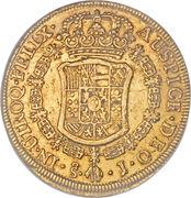 8 Escudos - Carlos III – revers
