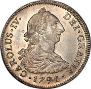 4 Reales - Carlos III – avers