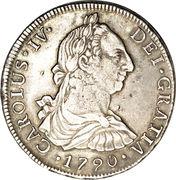8 Reales - Carolus IV – avers